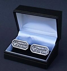 Made in England Pewter Cufflinks