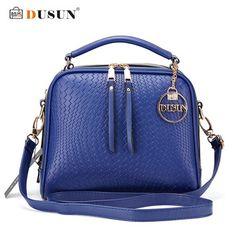 DUSUN Luxury Knitting Pattern Handbag Woman Messenger Fashion Women Famous Design Handbags Feminina Shoulder Bag Casual Tote