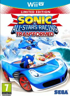Sonic and All-Stars Racing Transformed Bonus Edition - Nintendo Wii U Sega Wii U Games, Xbox 360 Games, Pc Games, Board Games, All Star, Playstation, Hot Wheels, Microsoft, Shopping