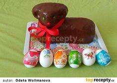 Beránek biskupský recept - TopRecepty.cz Pudding, Christmas Ornaments, Holiday Decor, Desserts, Food, Tailgate Desserts, Deserts, Puddings, Christmas Jewelry