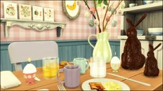 The Sims 4   Martine's Easter / Spring Decorations   buy mode new objects deco