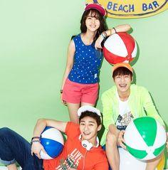 Kim So Hyun, Lee Hyun Woo and Park Seo Joon - Unionbay F/W 2014