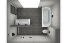 Ontwerp luxe badkamer bij Van Wanrooij.