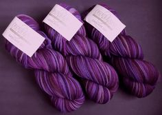 Royal Purple is my favourite colour displayed here in Cascade's 220 Paints - 100% Wool from Peru