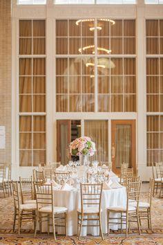 Daytime Wedding Reception at Union Station Dallas Venue