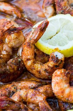Buttery Broiled Shrimp make an easy appetizer