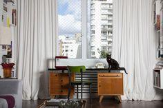 Projeto: Antônio Ferreira Junior - Apartamento em Higienópolis - Casa e Decoração - UOL Mulher