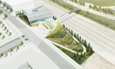 Gallery of Diller Scofidio + Renfro's 550-Ton Steel Bridge Lands in Colorado Springs - 5 Colorado Springs, New York Architecture, Commercial Architecture, Beautiful Architecture, Steel Bridge, Mountain Images, Interactive Exhibition, Us Olympics, Spring Images