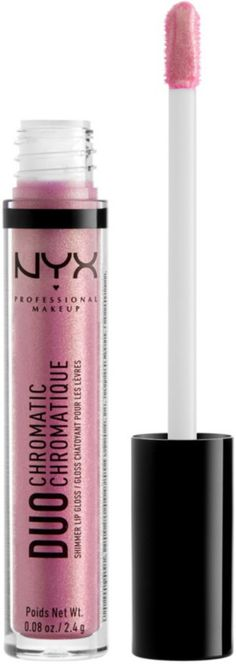 NYX Professional Makeup Duo Chromatic Lip Gloss - Booming