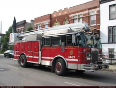 Chicago Fire Dept - G483 - Rescue Squad