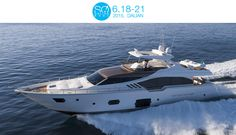 SO! DALIAN is the first international Yachting and Lifestyle Rendezvous in the North of China. Held from 18th to 21st June, Ferretti Group is using the show as an opportunity to showcase the Ferretti Yachts 870 (Boot G10-G11, Bart Y107, East Port Marina, Dalian, China)