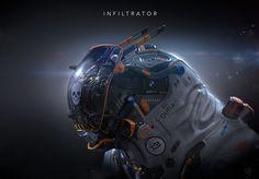 ArtStation - Infiltrator, Igor Sobolevsky