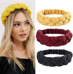 Headband Tutorial, Diy Headband, Laura Love, Kids Tiara, Black Flower Crown, Ribbon Flip Flops, Diy Hair Scrunchies, Hair Wrap Scarf, Cabello Hair