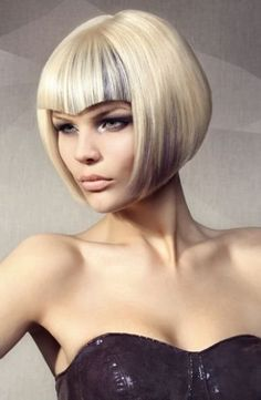 These 23 Inverted Bob Haircuts Are Trending in 2019 - Style My Hairs Bob Hairstyles 2018, Bob Hairstyles For Fine Hair, Girl Hairstyles, Kids Bob Haircut, Bob Haircut With Bangs, Futuristic Hair, V Bangs, Blunt Hair, Asymmetrical Bob Haircuts