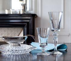 MILLE NUITS TALL GLASS, , original Baccarat Stemware
