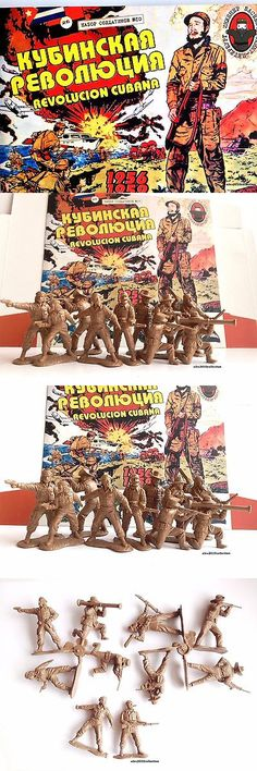 1970-Now 2638: #10 Engineer Bassevich Cuban Revolution,Castro,Che Guevara,1:32 Plastic Soldiers -> BUY IT NOW ONLY: $46.9 on eBay!