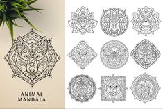 This bundle contains 300 unique vector Black & White mandala designs (some have clean lines and some have an organic look to have a more hand made feel to it) - Geometric Tattoo Sleeve Designs, Sacred Geometry Symbols, Relaxation Meditation, Background For Photography, Photography Backgrounds, Indian Mandala, Paper Ornaments, Ancient Civilizations, Paper Texture
