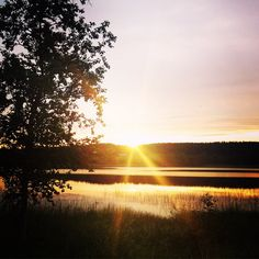 Beautiful sunset in Himos, Finland Beautiful Sunset, Finland, Places, Pictures, Nature, Outdoor, Photos, Outdoors, Naturaleza