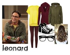 """""""Leonard"""" by samirogers1104 ❤ liked on Polyvore featuring dVb Victoria Beckham, Theory, Witchery, Vero Moda and Converse"""