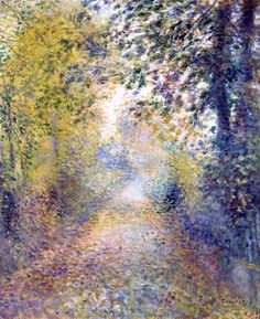 Pierre-Auguste Renoir - In the Woods
