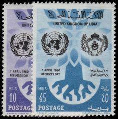 Libya 1960 World Refugee Year unmounted mint.