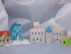 would make cute town courthouse for christmas village