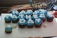 Fathers Day cupcakes..