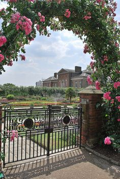 Kensington Gardens, London. Think this is part of the private garden within the gardens, for the Palace occupants. Can't wait!!