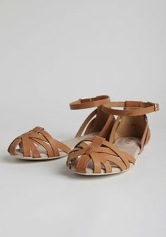 Brandy Woven Sandals In Tan #vegan #fauxleather