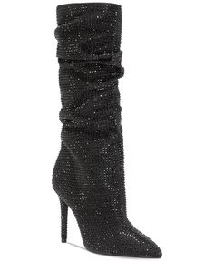 Jessica Simpson Layzer Slouchy Rhinestone Boots fro Macy's. Buy Boots, Shoe Boots, Women's Boots, Ankle Boots, Jessica Simpson Boots, Christmas Shoes, Sparkly Shoes, Slouchy Boots, Women Oxford Shoes