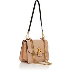 Chloé Women's Mily Medium Shoulder Bag (€1.840) ❤ liked on Polyvore featuring bags, handbags, shoulder bags, chloe handbags, white leather handbags, shoulder strap handbags, genuine leather purse and shoulder handbags