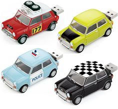 Mini Cooper USB Flash Drives