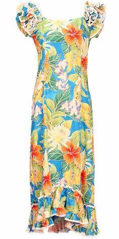3f4c0b104232 16 Best Plus Size Hawaiian Dresses images | Hawaiian dresses ...