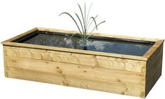 Robust raised wooden fish pond outdoor feature liner by ZEST, http://www.amazon.co.uk/dp/B00BQV389M/ref=cm_sw_r_pi_dp_k7ZTrb1C2ED0H  Raised fish pond, high quality, will make your garden look neat and tidy, perfect for small outdoor fish. Sold on Amazon by Best4Garden.