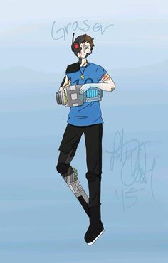 An awesome fan art of graser10
