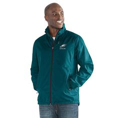Officially Licensed NFL Movement Full-Zip Packable Jacket by Glll - Eagles