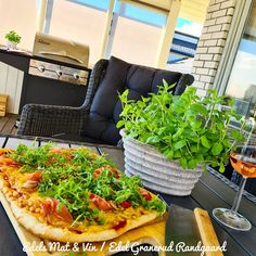 Edels Mat & Vin: GRILLET STEINGOD PIZZA !