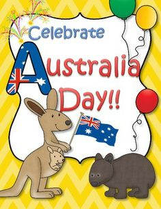 This is a set of printables about Australia for young learners. Perfect for an introduction to Australia for children in the US and Canada, and to celebrate Australia Day (Jan. for preschoolers and Pre-K in Australia. Preschool Themes, Preschool Printables, Kindergarten Activities, Activities For Kids, Free Printables, Activity Ideas, Australia School, Australia For Kids, Australia Crafts