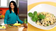 Cookalong with Laura Vitale! Spring risotto, blueberry turnovers and more