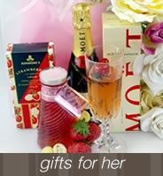 Gorgeous gourmet gift hampers for Mum.