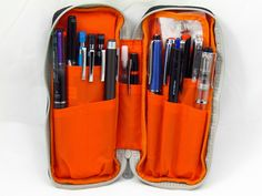 Nomadic PE-06 Side Zipper Pencil Case I have been looking for just the right pencil case to fit in my messenger bag and I think I have found it. Plus, I believe my makeup can fit in this too! Bonus!