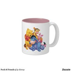 Pooh & Friends 5 Two-Tone Coffee Mug http://www.zazzle.com/disney?rf=238498825812378580