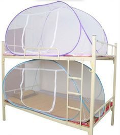 [Visit to Buy] Mosquito Net For Bed,Pink Blue Purple Student Bunk Bed Mosquito Net Mesh,Cheap Price Adult Double Bed Netting Tent #Advertisement
