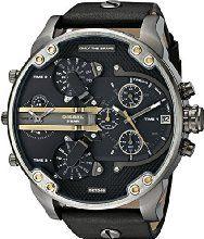 Diesel Men's DZ7348 Mr Daddy 2.0 Analog Display Analog Quartz Black Watch