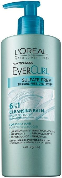 See 83 reviews, photos, and Q&A on L'Oréal Paris Hair Expertise® EverCurl Cleansing Balm: I love this product! After hearing some good things about the new L'Oreal Cleansing Balm line, (and needing some new cleansing conditioner) I decided to give it a try. I have curly hair that I've abused for years and in the past two or three years have tried to start taking better care of. I try to only use all-natural (or mostly natural/organic/ethical) products for my makeup, ...