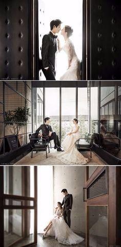 Classy and Elegant Indoor Studio Pre-wedding Photoshoot In Korea That Ticks All The Right Boxes - Timetwo Studio, Modern, Indoor