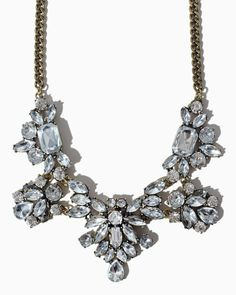 charming charlie | Luxurious Bursts Necklace | UPC: 410006647015 #charmingcharlie @Holly Hall