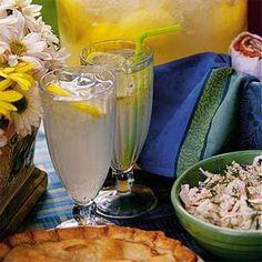 Homemade Lemonade Recipe | MyRecipes.com