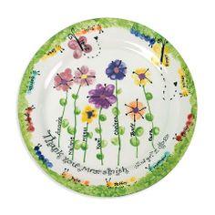 thumbprint flowers   Fingerprint Flowers & Bugs
