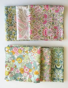Molly's Sketchbook: Mother's Day Liberty HandkerchiefSet - the purl bee